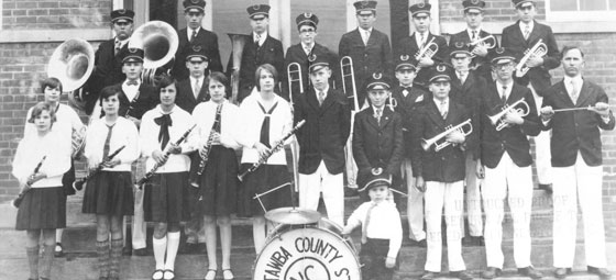 Catawba County HS Band 1929