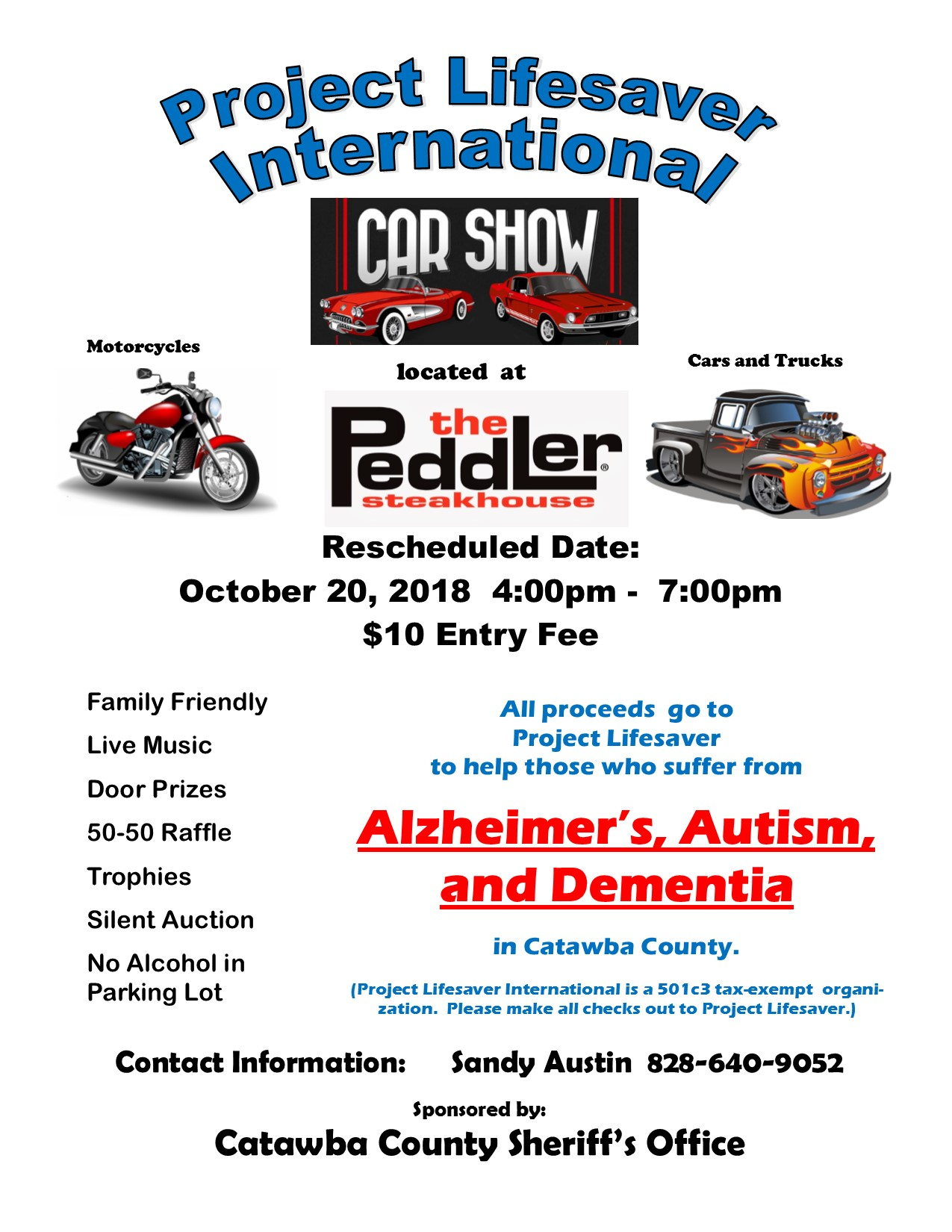 Car Show Rescheduled