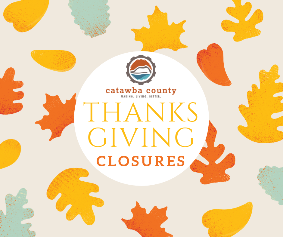 Thanksgiving 2018 County Government Closures