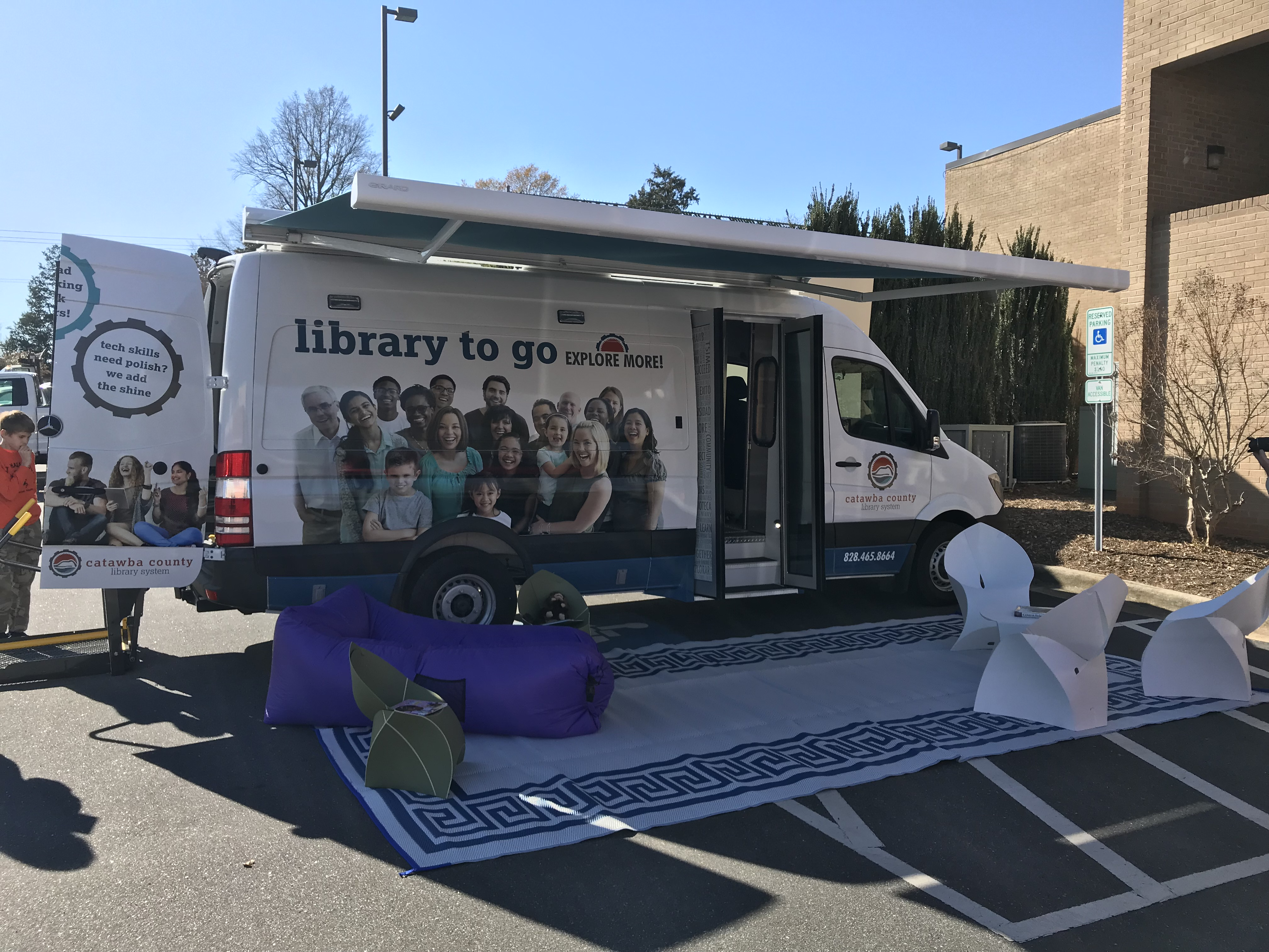 Library to Go Ribbon Cutting