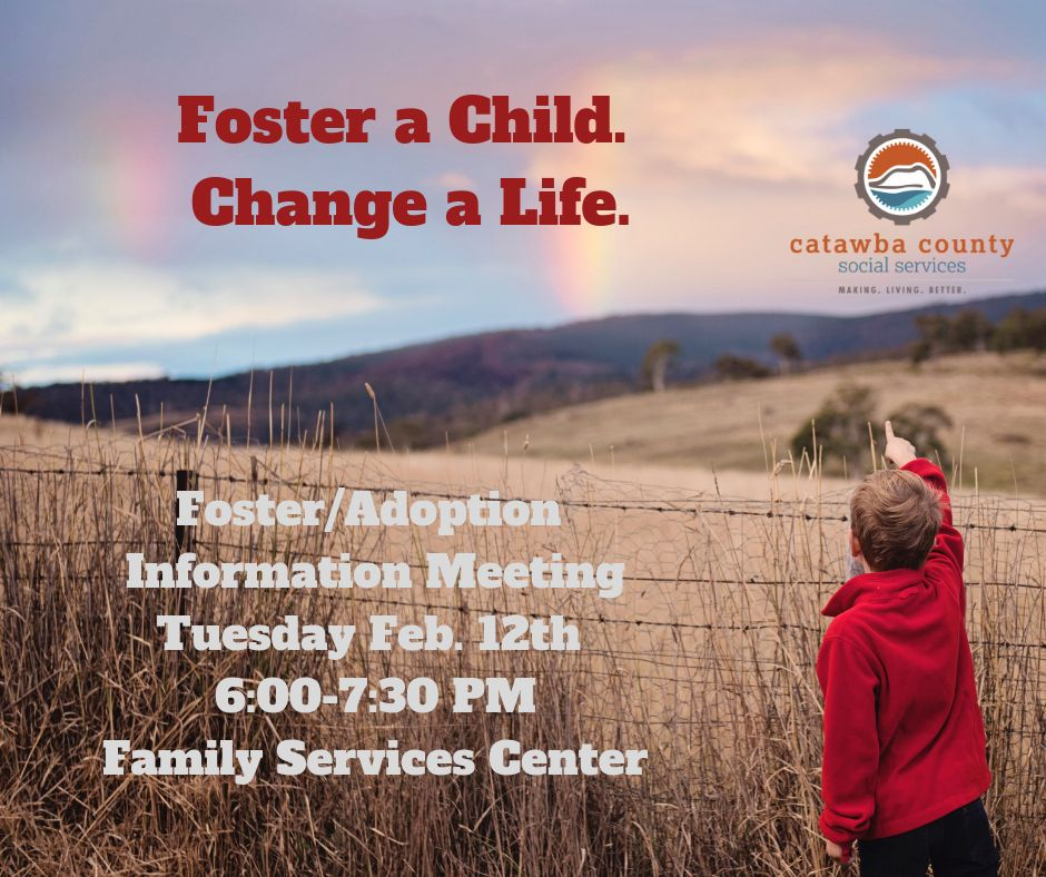 Foster/Adoption Info Meeting Feb 12, 2019