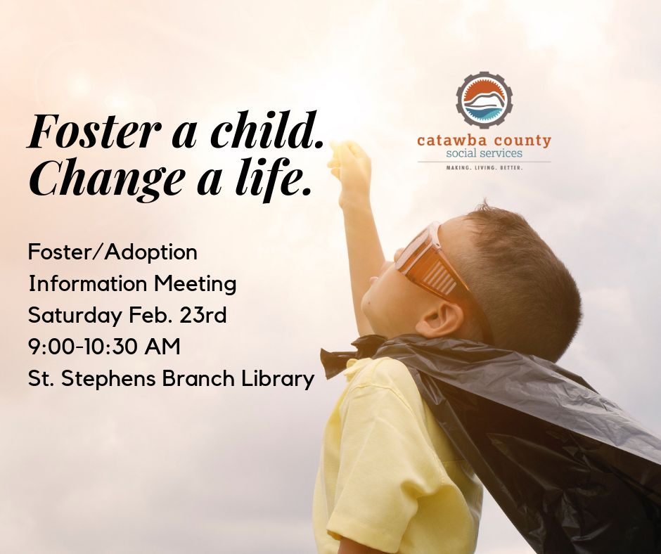 Foster/Adoption Information Meeting - Sat 2/23
