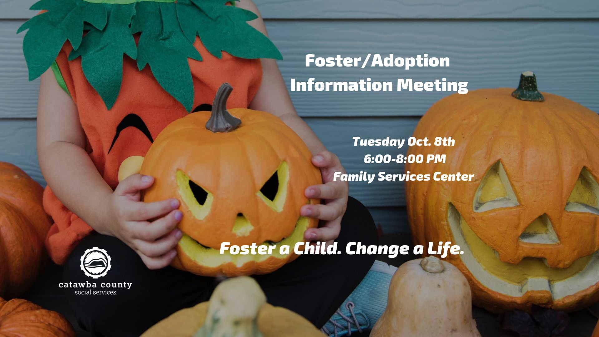 Foster/Adoption Information Meeting Oct 8, 2019