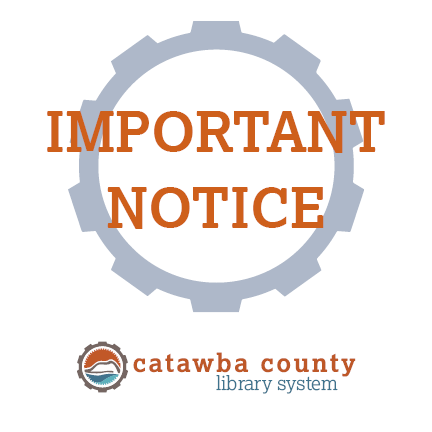 Catawba County Libraries Closed Until Further Notice