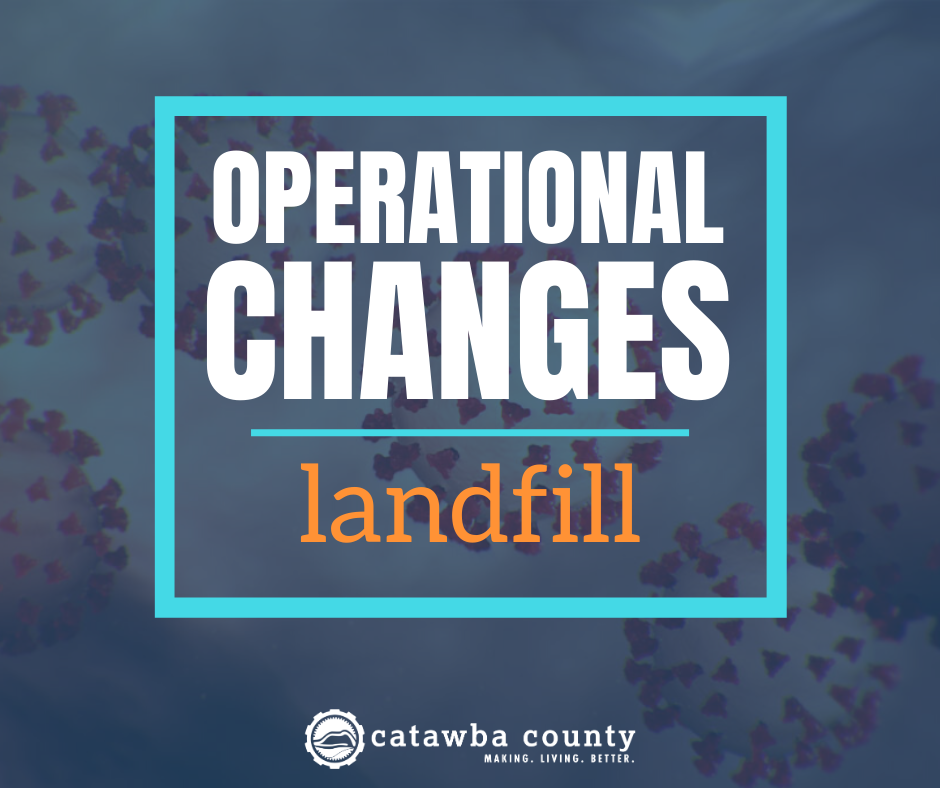 County Landfill Operational Changes